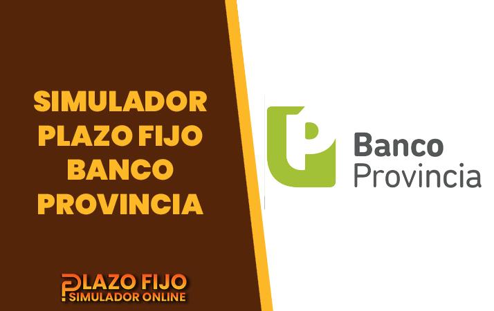 simulador plazo fijo banco provincia